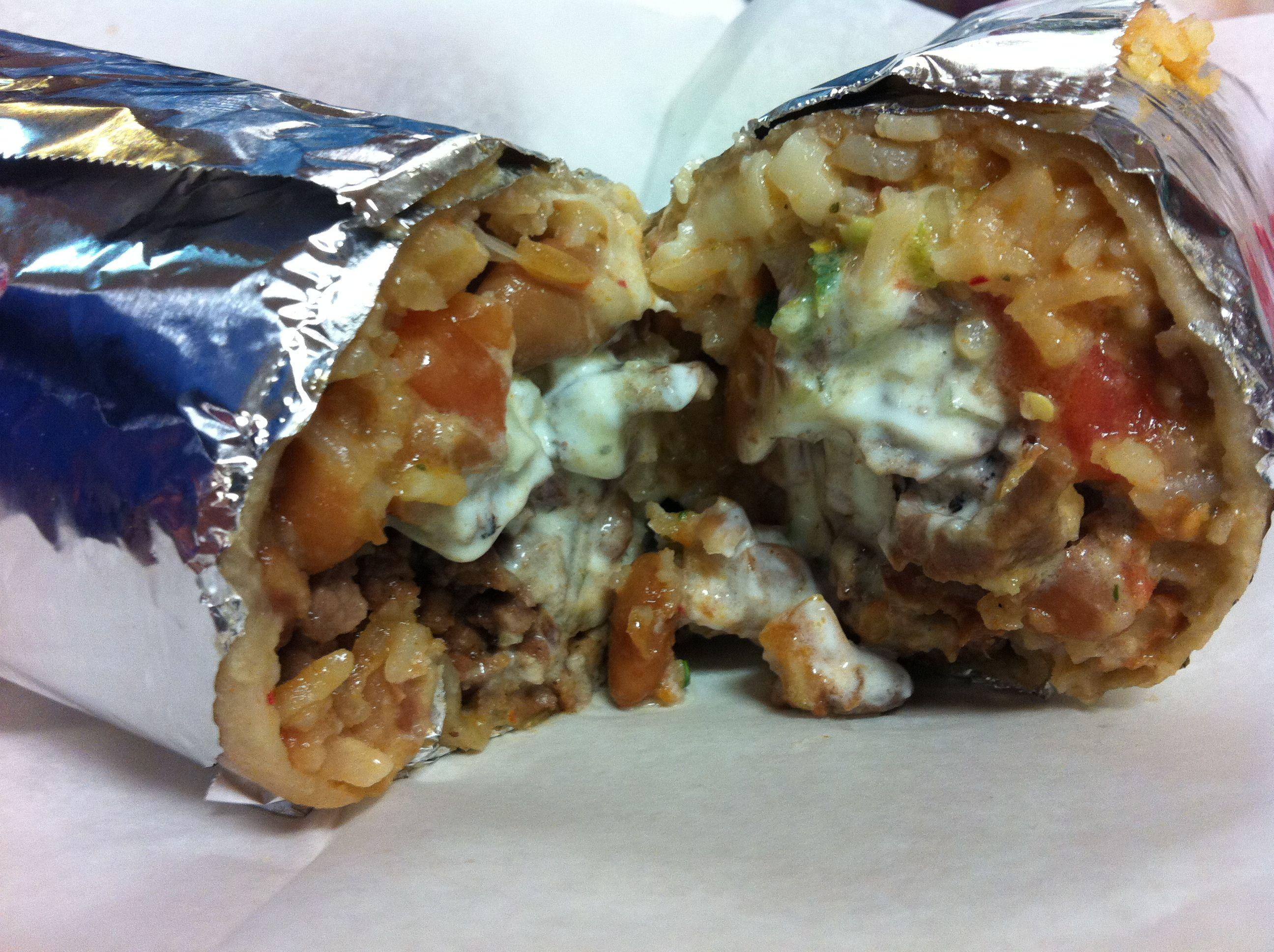 El faralito carne asada super burrito