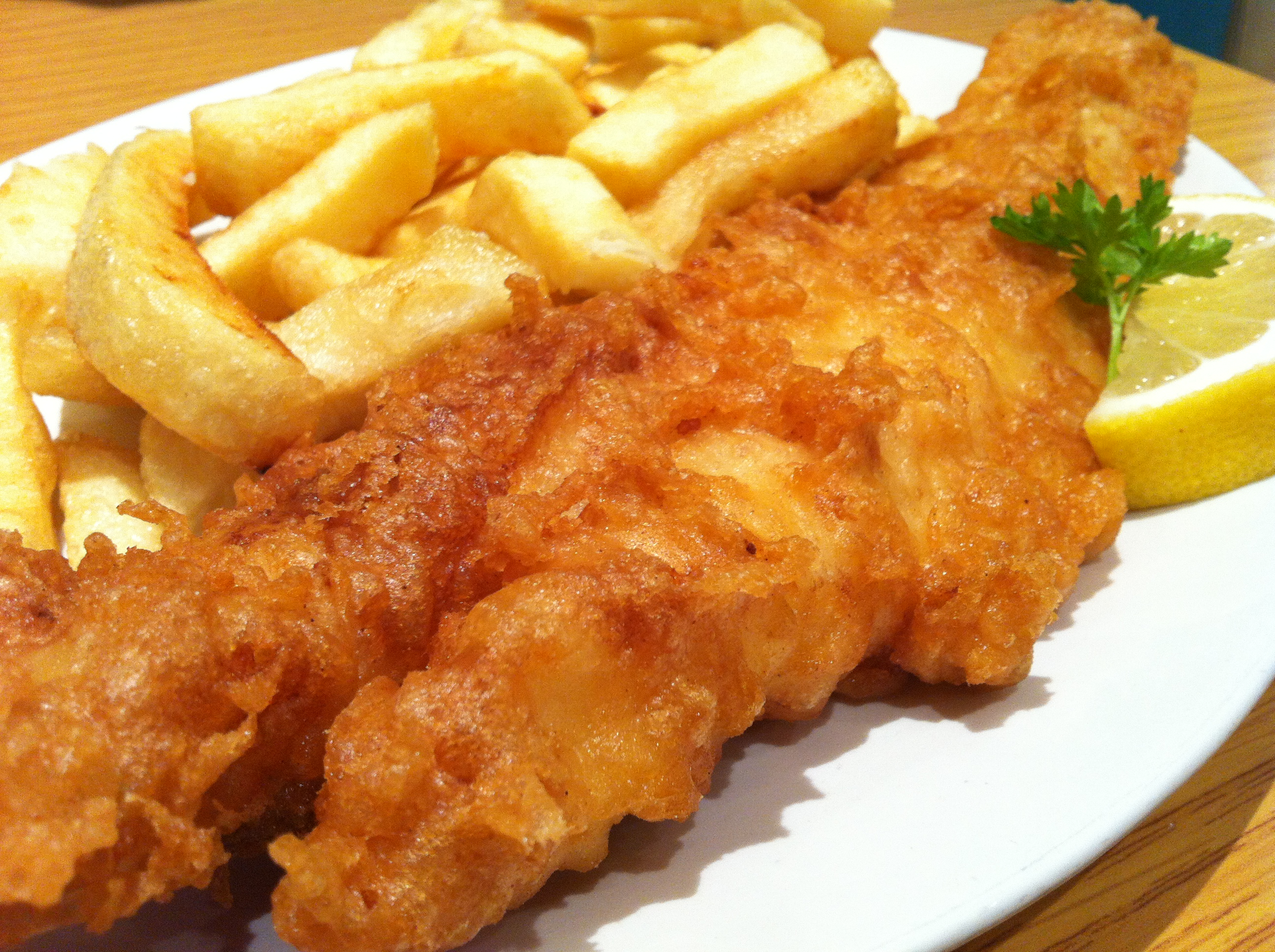 Mr fish the food spotlight for Fish and chips restaurant near me